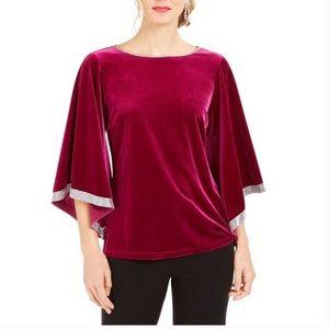 MSK pink NWT embellished top
